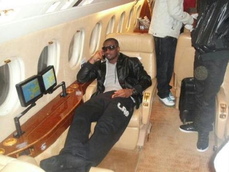 Pictures of P-Square Newly Acquired Private Jet