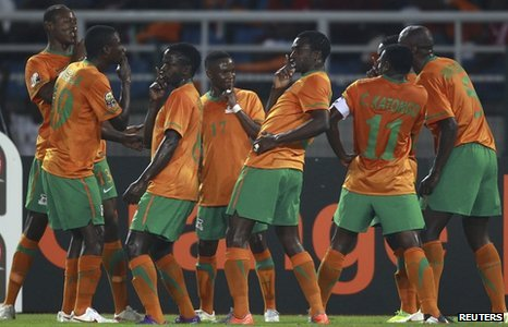 Zambia To Face UGANDA In AFCON Final Qualifier '2013 AFCON Qualifiers Draw – As It Happened'