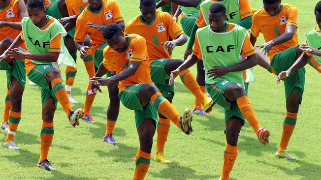 Zambia Begin The Defence Of Their Nations Cup Crown