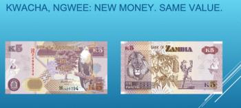 BoZ Unveils Rebased Kwacha Specimens