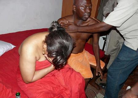 Man Catches 'Prostitute' Wife Having SEX With A Client In Matrimonial Bed