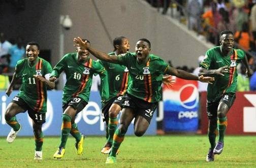 Zambia To Meet Nigeria, Burkina Faso, Ethiopia In AFCON 2013 Group C