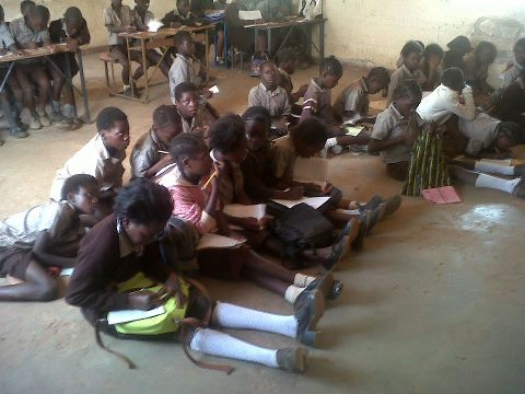 Pupils Still Sitting On The Floor In Mufumbwe