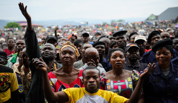 Many Dead In Congo Anti-Kabila Protests