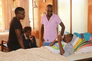 Photos Of PJ In Hospital Befor...