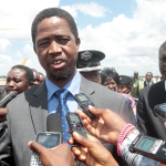 Edgar Lungu Journalists Airport