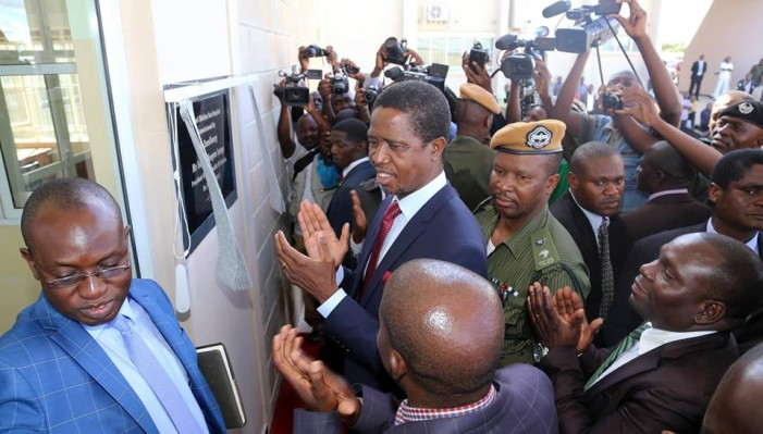 Lungu Launches K1.5 Billion Kafue Water Project