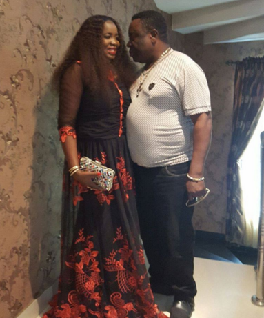 Comic Actor Mr Ibu and His Beautiful Wife Loved Up