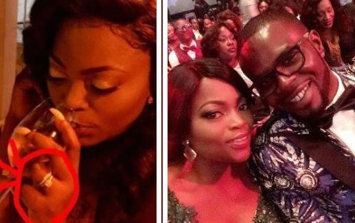 Funke Akindele Quietly Weds Singer JJC In London