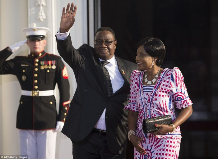 Malawi Dismisses Rumours About President Mutharika's Health